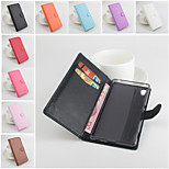 PU Leather Protective Case With Holder Stand for Sony Xperia Z4(Assorted Colors)
