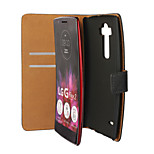 YMX-Light Surface PU Leather Full Body Wallet Protective Case with Stand and Card Slot for LG G Flex 2 H959