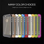 slicoo nero con multicolore disegno cellulare fasciame esterno del telefono per iPhone 6 (colori assortiti)