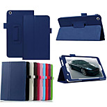 7 Inch Lichee Pattern PU Leather Stand Case with Pen for ASUS-ME171CG(Assorted Colors)