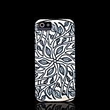cubierta del patrón de flor mandala azteca para el iphone 5 caso de 5s iphone