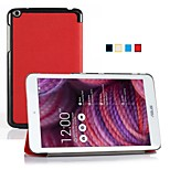 IVSO  ASUS MeMO Pad 8 ME181C Ultra-Thin Slim Smart Cover Case-will only fit ASUS MeMO Pad 8 ME181C Tablet (Red)
