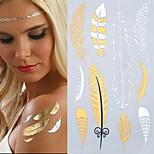 Tatuaggi adesivi - Serie gioielli/Altro Da donna/Girl/Da uomo/Adulto/Teen - 1 pc - Modello - di Carta - 20.5x15.5cm(8.1*4.1in) -