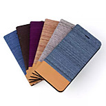 4.7 Inch Cowboy Grain Pattern PU Wallet Leather Case for iPhone 6 (Assorted Colors)