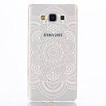 Datura mønster TPU blød Taske til Samsung Galaxy a5