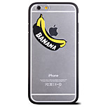 Banana Pattern Frame Back Cover for iPhone 6