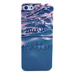 Mind Matter Wave Pattern Hard Cover Case for iPhone 5C