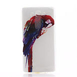 Parrot Dragon Pattern TPU Material Soft Phone Case for LG G3