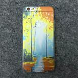 la peinture de paysage cas TPU modèle de téléphone pour iphone 6s / 6 plus