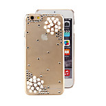 Special Stereoscopic White Flower Style PC Back Cover Case for iPhone 6