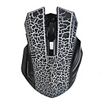 New 6 Keys 1600dpi Wireless Gaming Mouse Crack Paragraph for Game Athletics Office Desigh