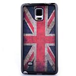 matériau TPU dépouillement cas de téléphone peint pour Samsung Galaxy Note 4