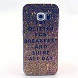 szórnak reggeli minta pc kemény tok Samsung Galaxy S6 szélén