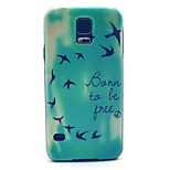 Bird To Be Free Flying Pattern for Samsung Galaxy S5 I9600