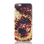 Fire Pattern TPU Material Phone Case for iPhone 6