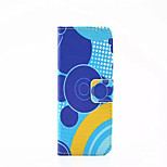 Loop Pattern PU Leather Phone Case For iPhone 5/5S