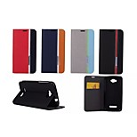 Hit Color No Buckle PU Leather Full Body Case for Alcatel One Touch Pop C7(Assorted Colors)