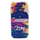 varje sommar har en historia mönster pc hårda fallet för samsung s4 mini i9190 tillbaka täcka