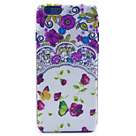 Pansies  Pattern PC Hard Case for iPhone 6