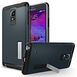 kimalainen seistä takakansi Samsung Galaxy huomautuksen 4 n9100 (eri värejä)