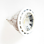 4PCS/Lot White MR16 8W 1PCS COB 650lm 3000K/4000K/6000K LED Spotlight (AC/DC12V)
