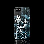/ iphone caso della copertura del modello giraffa per il caso di iphone 4 4 s