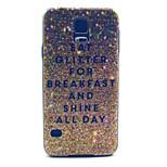 desayuno brillo pattern pc caso duro para i9600 de Samsung s5