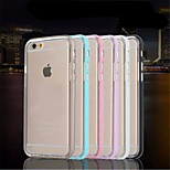 Multicolor Piano Metal Frame + TPU Phone Case for iPhone 6  (Assorted Colors)