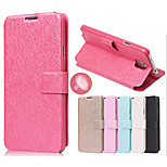 Silk Pattern with Card Bag Full Body Case for Samsung Galaxy Note 3 N9000(Assorted Color)