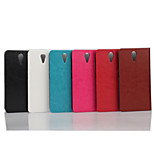 5 Inch Luxury PU Wallet Leather Case for HTC Desire 620(Assorted Colors)