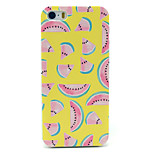 Watermelon  Pattern Transparent Frosted PC Back Cover  For iPhone 5/5S