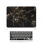 Black Skeleton Pattern PVC Full Body Case Cover and Keyboard Cover for Macbook Air 13.3 inch