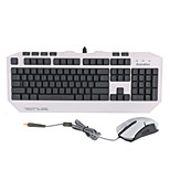 Ghost Ax USB Wired Mechanical Feel Backlit Gaming Mouse And Keyboard Set