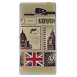 Vintage Postcard Designs TPU Soft Case for Sony Xperia M2