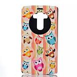Owl Pattern Quality Bracket Case for LG G4