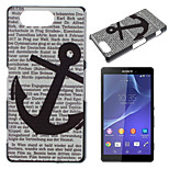 Anchors Pattern Painted PC Material Phone Case for Sony Z3 Mini