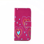 Soulmate  Pattern PU Leather Phone Case For iPhone 5/5S