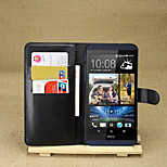 Litchi Around Open Bracket Leather Phone Wallet Card Suitable for HTC Desire 816(Assorted Color)