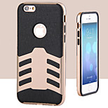 Battleship TPU+ PC Combo Phone Case for iPhone 6(Assorted Colors)
