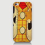 Grid Wood Pattern Case Back Cover for Phone5/5S Case