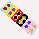 The New Fashion Pearl Glasses Design Silicone Soft Case for iPhone6(Assorted Colors)