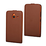 Genuine Leather Vertical Flip Magnetic Button Leather Case for Microsoft Lumia 640 XL (Assorted Colors)