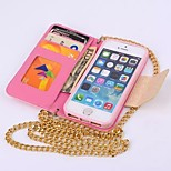 Lace Line PU Wallet Leather Case Flip Leather Case for iPhone 6 Plus 5.5'' inch