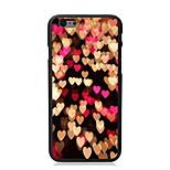 caso duro del diseño del corazón para 5c iphone