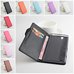 PU Leather Protective Case With Holder Stand for Sony Xperia C4(Assorted Colors)
