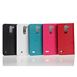 5 Inch Crazy Ma Pattern Luxury PU Wallet Leather Case for LG L Bello D331 (Assorted Colors)