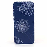 Black Dandelion Pattern PC Hard Case For iPhone 5/5S
