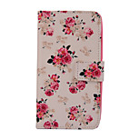 Magic Spider®Small Flowers Pattern PU Full Body Case Stand with Screen Protector for Sony E4