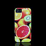 / caso del iphone 4 s la cubierta del patrón de frutas para el iphone 4 carcasa