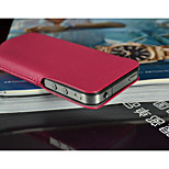 fashion® Design ultra sottile pochette in pelle geniune per iphone 4 / 4s (colori assortiti)